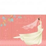 Vector Cô Dâu Váy Cưới Xinh Đẹp 27