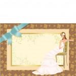 Vector Cô Dâu Váy Cưới Xinh Đẹp 32