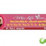 Corel Banner Băng Rôn Spa Làm Đẹp